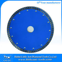 High Efficient Pro Turbo Continuous Rim Dimaond Blade Cutting Plate