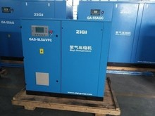 Variable speed rotary screw compressors