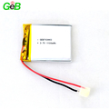 Rechargeable lithium ion battery 703443 3.7V 1100mAh polymer batteries for GPS devices