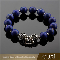(T30011) OUXI Fashion Wholesale Natural Stone Bead Bracelet