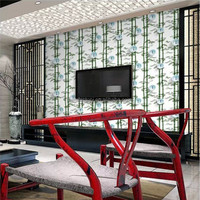 new bamboo design wallpaper for home decoration