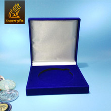 sonier-pins custom velvet coin display box with promotion gifts boxes for medals