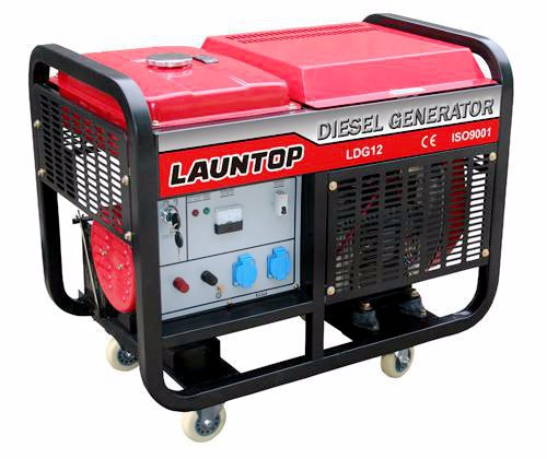 10KW Three-Phase Twin-Cylinder Portable Electric Diesel Generator