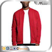 Custom Mens Varsity Baseball Jackets Soft Cotton French Terry Bomber Jacket