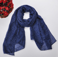 New Design Stylish Women Fashion Long Floral & Pattern Soft all-match Chiffon Summer Scarf Shawl Wraps&Scarves Hot
