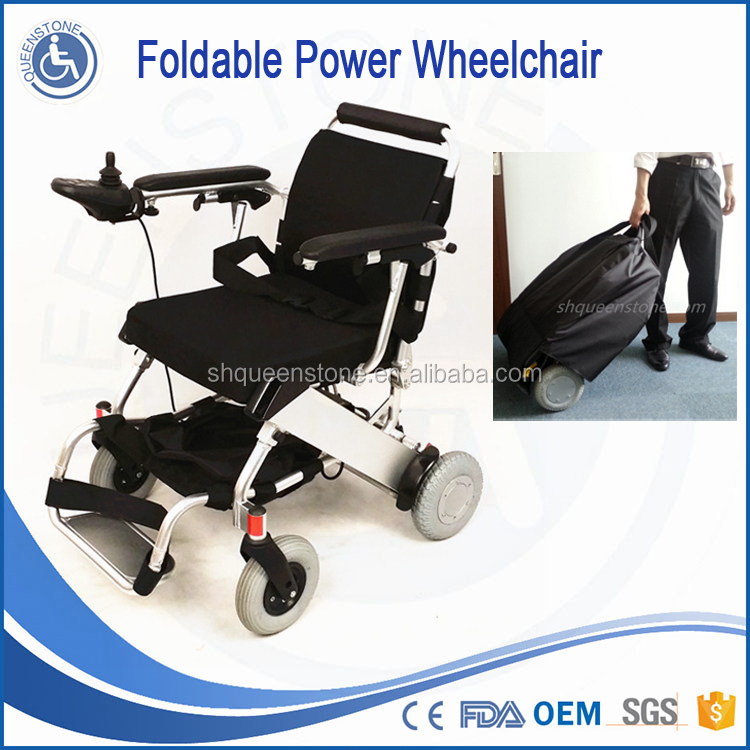 Medical equipment manual power steel automated wheelchair for elderly people use