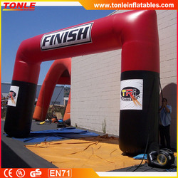 Customize inflatable sports authority arch for advertising/Inflatable archway for sports game