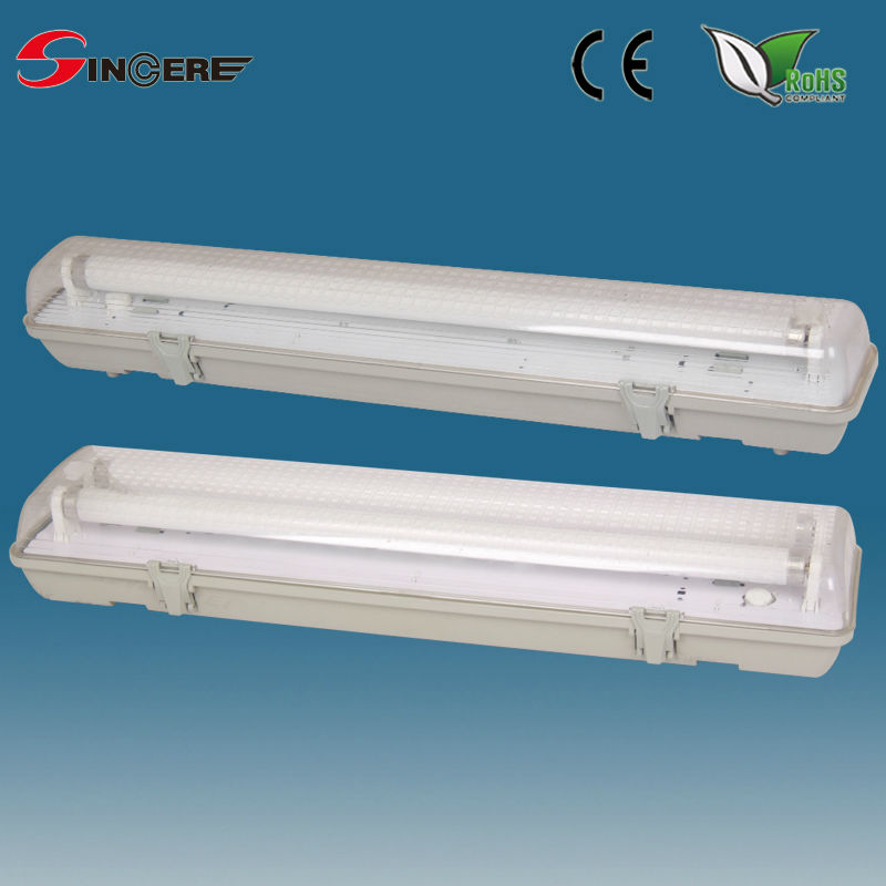 Outdoor Wall Lamp Plastic Fluorescent Waterproof Light Fixture Dust And Water Tube Light Fittings Buy Tube Light Fittings Fluorescent Lighting Fixtures