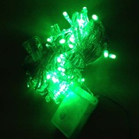 10M 100 Green Copper Wires LED Christmas Decorative Lights String Lights for Holiday Festival Decoration