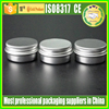 Round Tin Aluminium Can Empty Cosmetic Pots Jar Containers 5g 10g 20g 30g 50g 60g