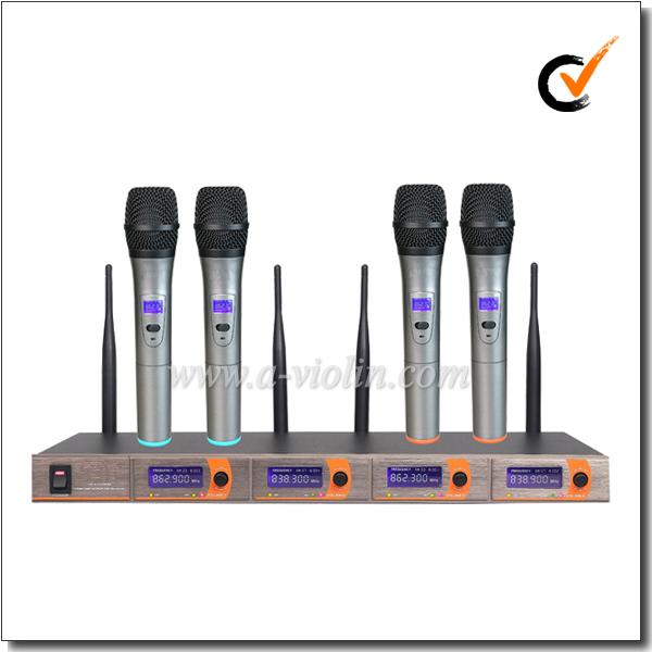 Professionnel FM Portable UHF MICRO Micro Sans Fil (AL-5520UML) - ANKUX Tech Co., Ltd