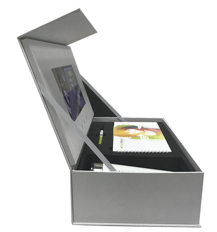 ETG 10 Inch E Paper Display Videokaart, Lcd Video Brochure Case