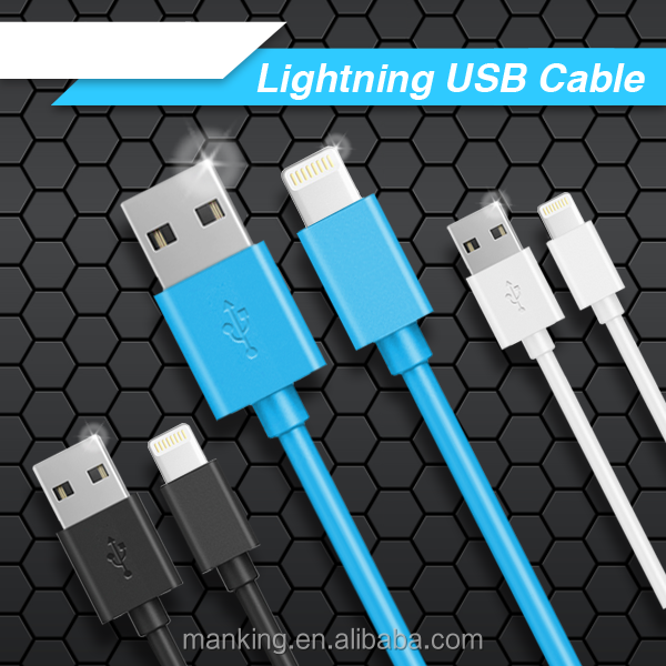 New production with 1m Mobile Phone Charger Cable Usb Round Data Cable For Apple Iphone 5s/5/6s/ 6 puls and for ipod ipad