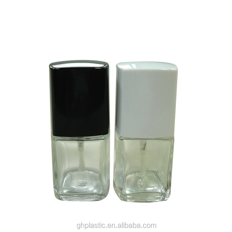 15 ml Square Nail Polish Oil Bottle
