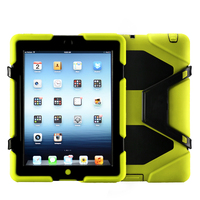 Hybird CE Certificate shockproof cute tablet pc case for ipad 234 for hot selling