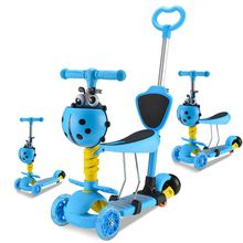 Latest Product Commercial Replaceable Three Wheels Safe Kids Plastic Mini Scooter