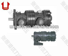 50T+150T vane and gear pump combination combine hydraulic pump