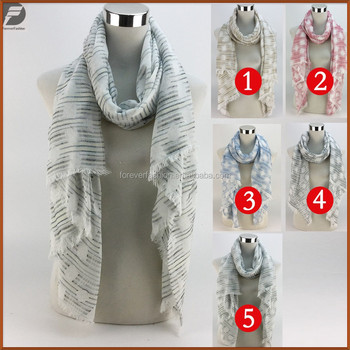 2017 New Fashion Cheap Square Shape Print Viscose Infinity Cowl Trim Tassel Pashmina Shawls