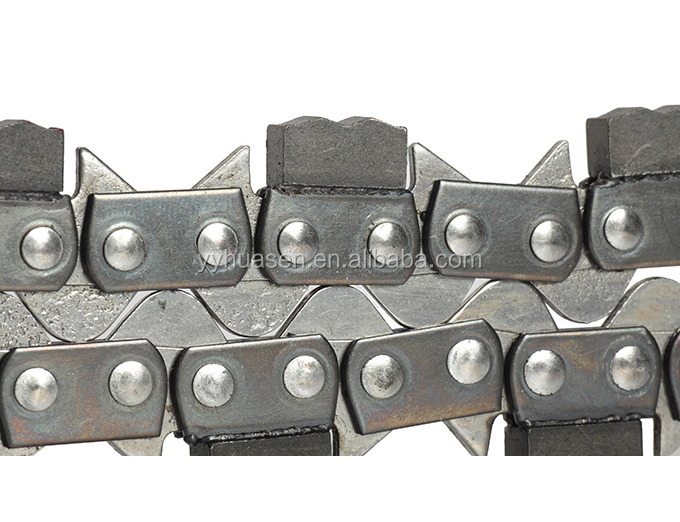 "3/8"" Gauge 0.063 Concrete Chain Saw,Stone Saw Chain of Garden Tool Parts"