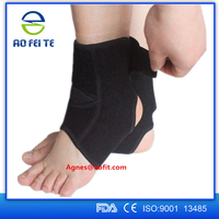 2016 Aofeite neoprene ankle protector/ adujstable ankle support/ neoprene sports ankle brace
