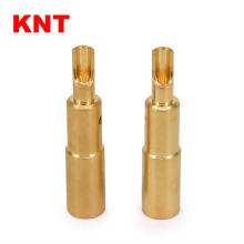gold plated Bullet RC Connector 4.0mm banana plug for RC UAV