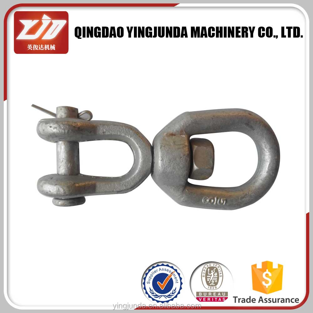 trade insurance drop forged eye and jaw sling swivel manufacturer