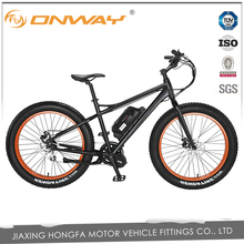 500 Watts fat tyre mountain electric bicycle with mid motor