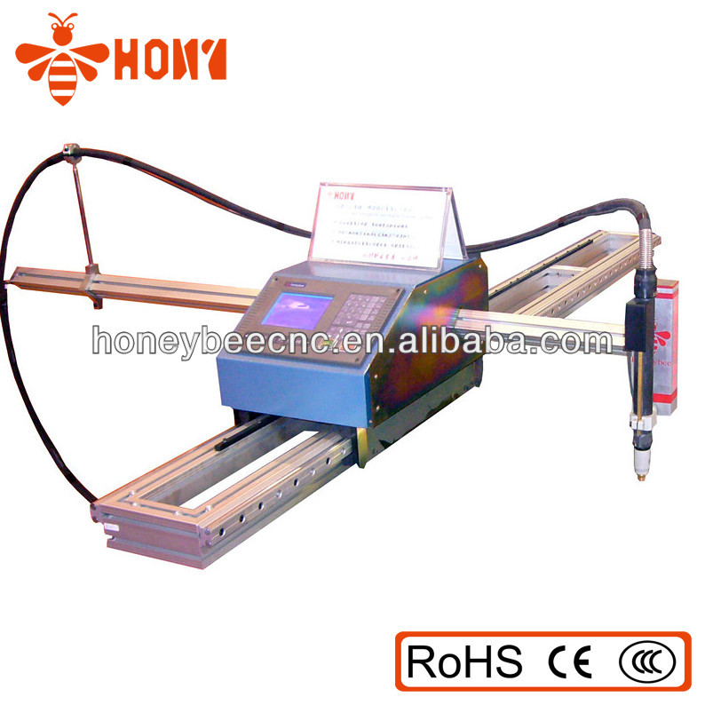 Honeybee CNC Plasma /Flame small cantilever cnc cutting machine very stable
