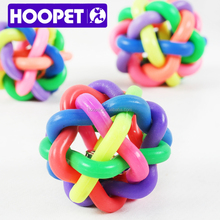 HOOPET colorful softball inflatable pet toys for dog