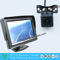 Auto car rearview camera with moving parking guide line XY-1688M