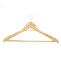 China Factory P66 Wooden Clothes Hanger