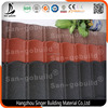 Metal Roofing Sheet for prefab house/Stone coated metal roof tile machine price