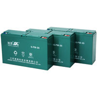 Long service life electric bike battery 12v 35ah used forklift battery