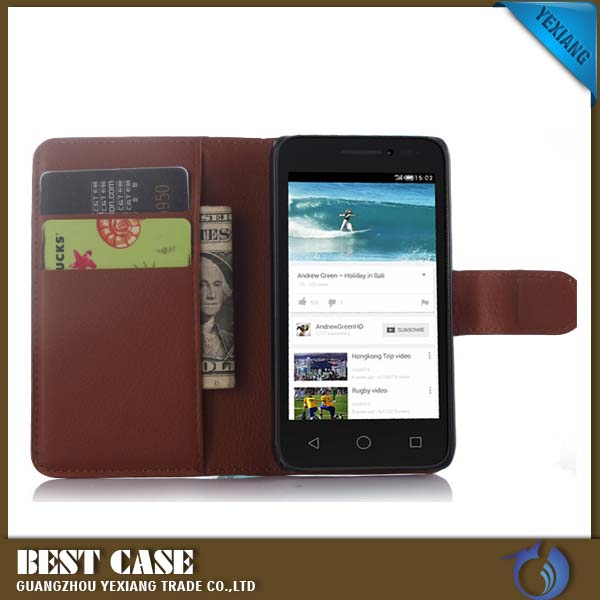 Magnetic Wallet Leather Case For ZTE Blade V7 Stand Cover with Card Holder
