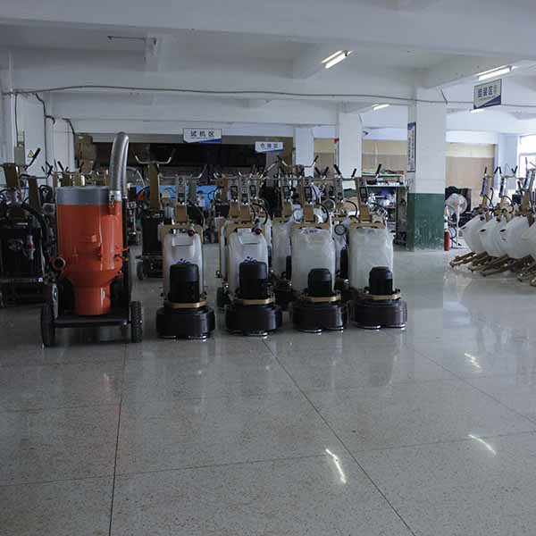 surface grinding vertical concrete floor polishing machine