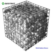 Welded Galfan Gabion Containers and Wire Meshes Supplier