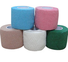 Self Adhesive Elastic Bandage Stretch Grip Hockey Stick coloured Wound dressing or wound care Tape