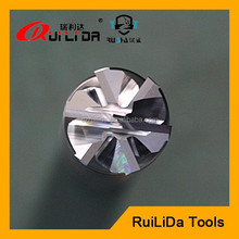 tungsten carbide 6 flute end mill cutter