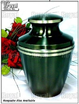 Twin Banded Adult Cremation Urn