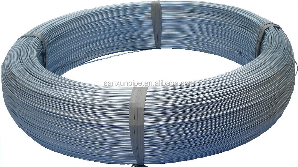 Galvanized steel seamed pipe