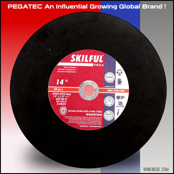 "Abrasives 9""  stainless steel metal cutting disc 230x1.9x22.23mm"