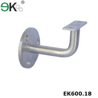 fixed flat support wall handrail bracket