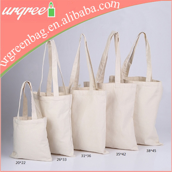 Wholesaler Plain Cotton Canvas Shopper Tote Bags Blank
