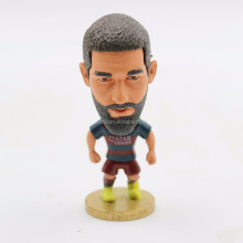 2016 OEM football player action figure maker/custom design soccer player figure/2016 pop plastic soccer player s
