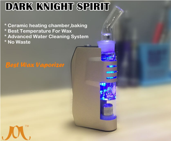 China New Product For 2016 Wax Vaporizer Water Cleaning Vapor Box Mod Dark Knight Spirit