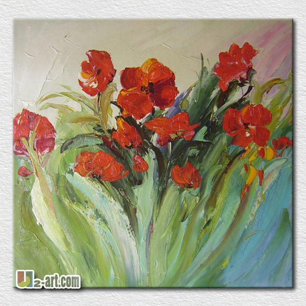 Best gift wholesale oil painting flower picture for living room