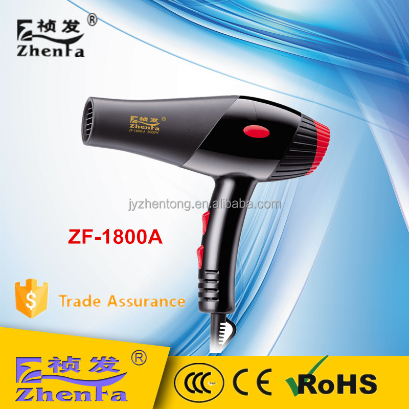 Professional barber hair dryer OEM factory ZF-1800A