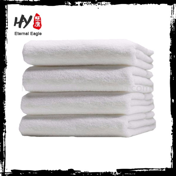 Hot selling custom cotton hotel white towel