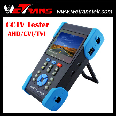 CT280 AHD/ CVI/ TVI and Analog CCTV Tester with 3.5 inch HD LCD Screen