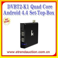 Original Android TV Box K1 S805 Quad core DVB T2 KODI/xbmc pre-installed TV Box Android dvb t2 set top box dvb t2 receiver k1